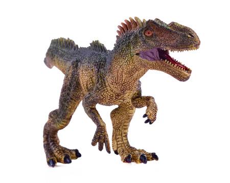green tyrannosaurus on white background