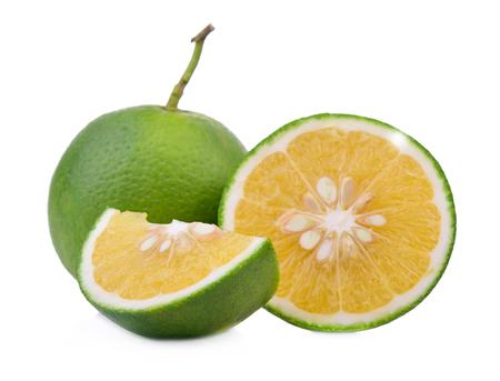 Sweet Orange isolated on white background