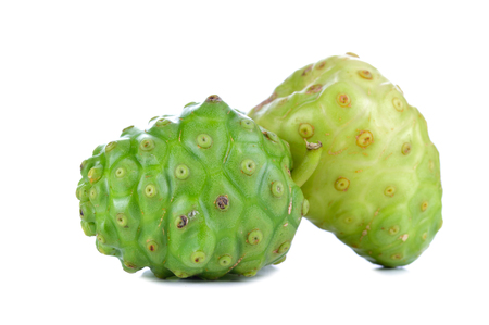 Exotic Fruit - Noni isolated on the white background. Stok Fotoğraf