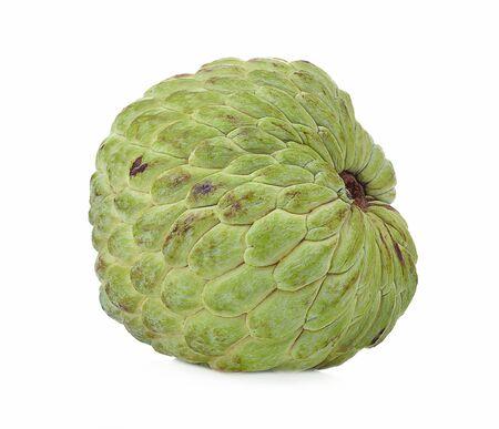 Healthy fresh fruit annona isolated on white background Reklamní fotografie