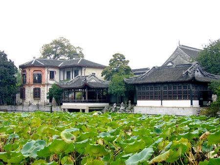 ancient architecture: Ancient architecture at Nanxun town, China