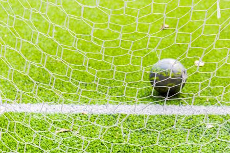soccer net: soccer net with football