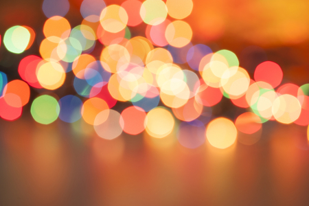 coloured background: Defocused bokeh lights background Stock Photo