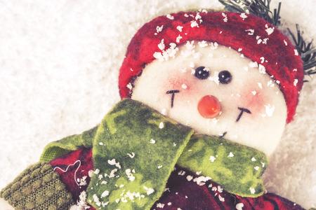 cross processed: Christmas decoration. Cross processed image