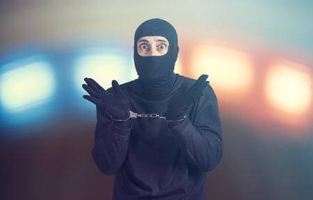 Arrested criminal