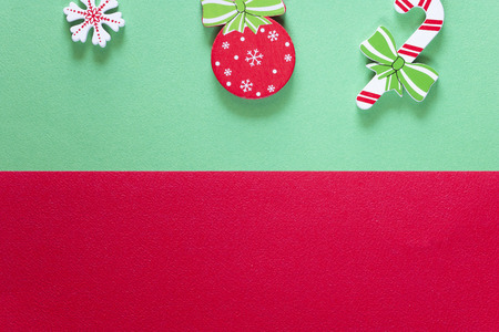 Christmas background with copy space. Top view Stock Photo - 112521798