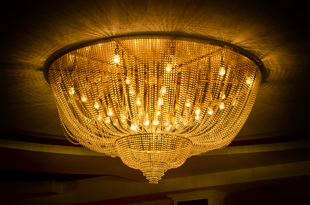 chandelier: Golden Chandelier