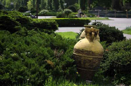 vase: Ancient Vase Stock Photo