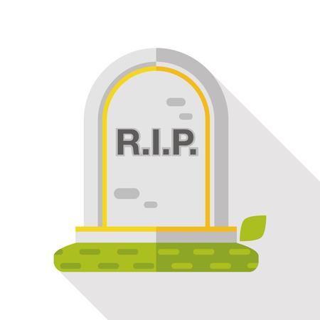 grave: grave flat icon
