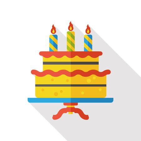 buttercream: birthday cake icon