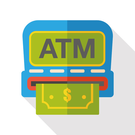 ATM flat icon