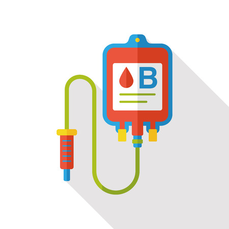 iv bag: IV bag flat icon