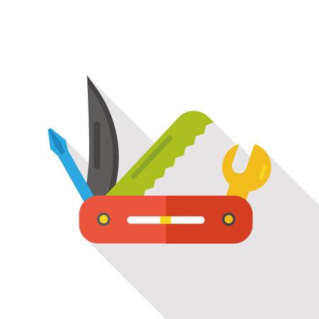 utility: Utility knife flat icon