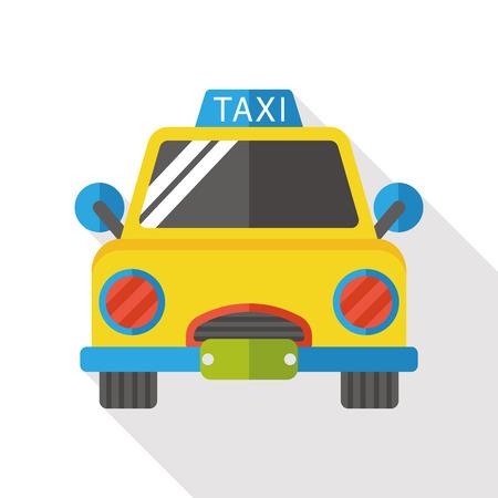 private service: taxi flat icon Illustration
