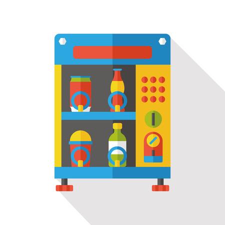 distribution automatique: Vending Machine flat icon