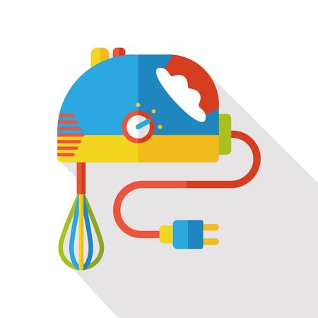 batidora: batidor de cocina electr�nica icono plana