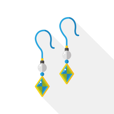 earring: earring flat icon
