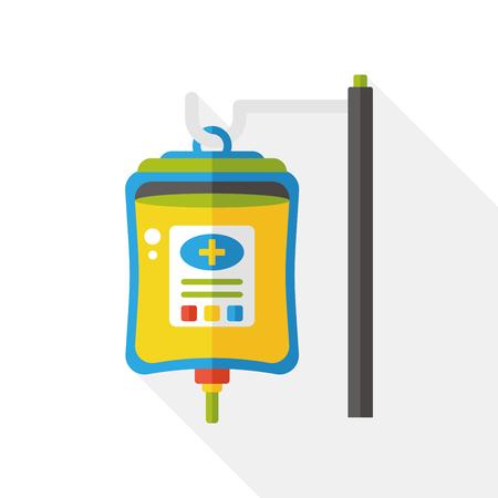 iv: IV bag flat icon