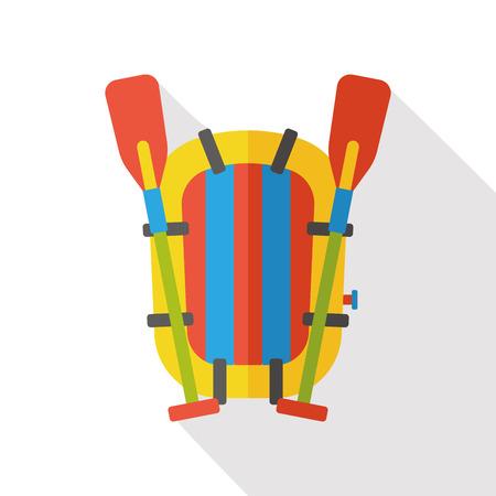 lifeboat: Sea Lifeboat flat icon