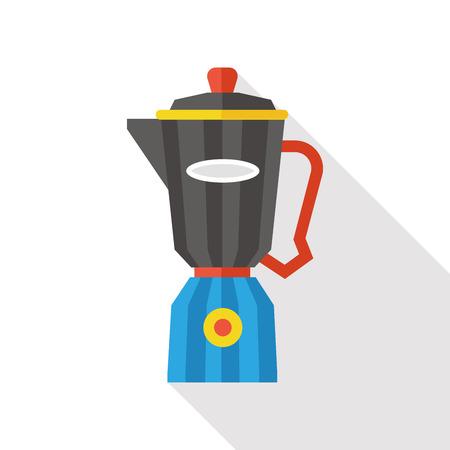 juicer: kitchenware juicer flat icon Illustration