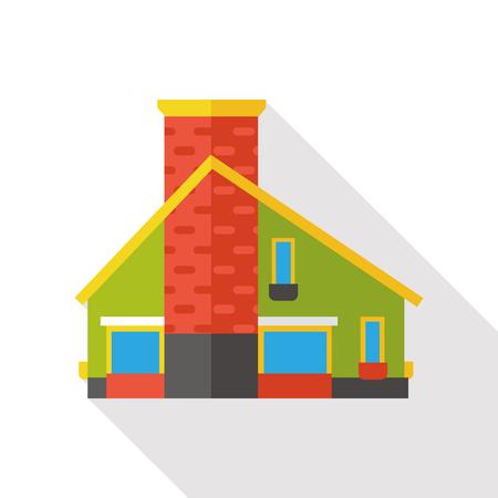 architecture: building architecture flat icon