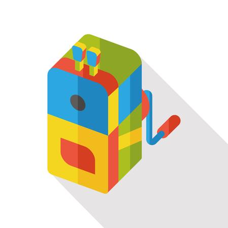 sharpener: Pencil sharpener flat icon