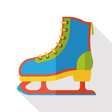 rollerblade: sport roller skate flat icon