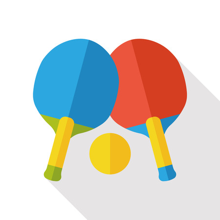 table tennis: sport table tennis flat icon