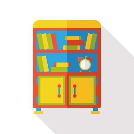 closet: closet cabinet flat icon Illustration