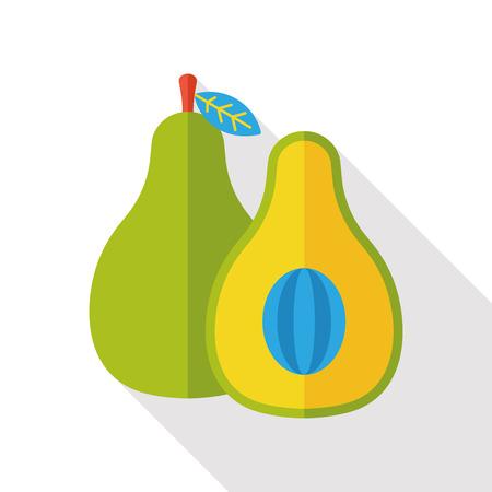 avocado: vegetable Avocado flat icon