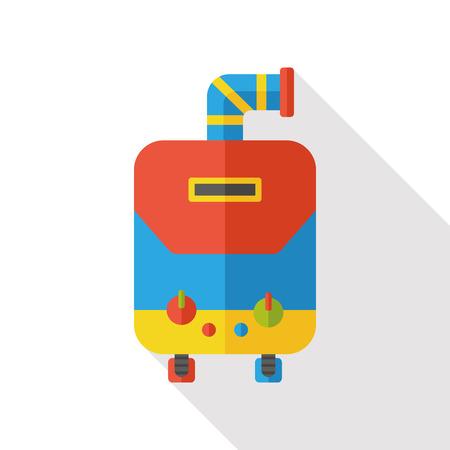 Water Heater flat icon