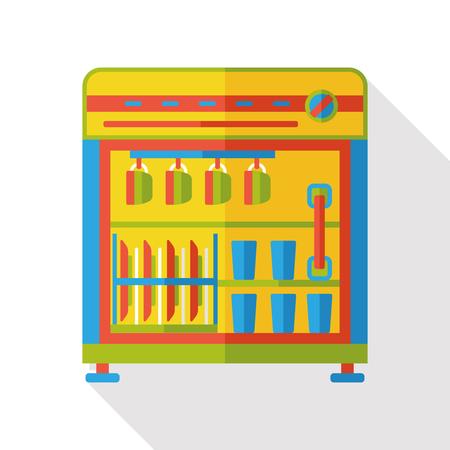 dishwasher: dishwasher machine flat icon