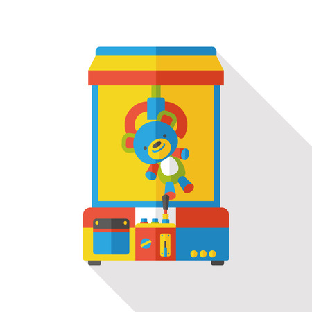 grabber: crane machine flat icon