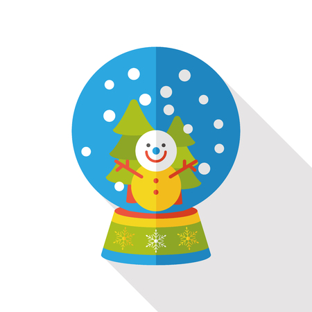 gazing: crystal ball flat icon