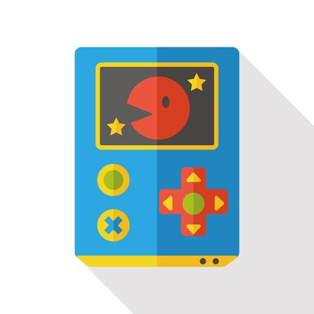 handheld: Handheld game consoles flat icon