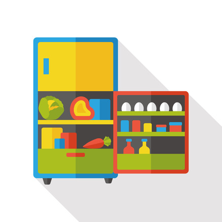 appliance: refrigerator appliance flat icon