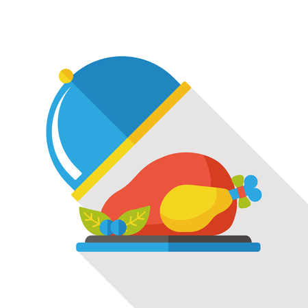 food: food chicken flat icon