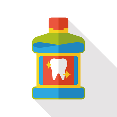 mouthwash: clean Mouthwash flat icon