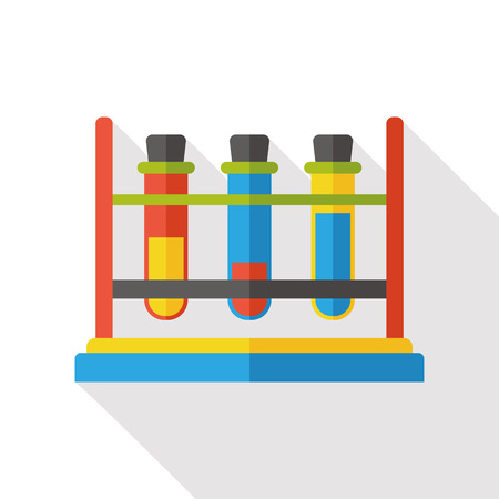 test glass: Experiment Beaker flat icon