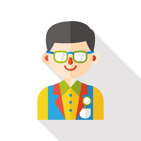 waiter: waiter occupation character flat icon