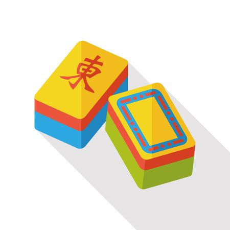 mahjong: Chinese Mahjong flat icon