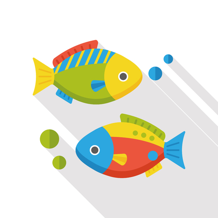 food: fish food flat icon