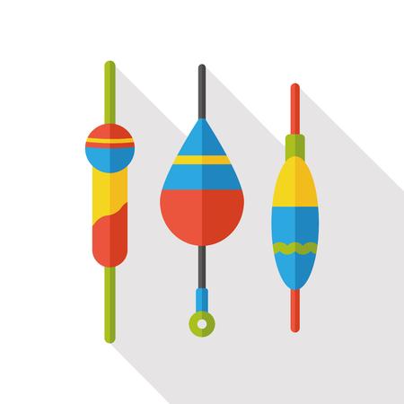 bait: fishing bait flat icon