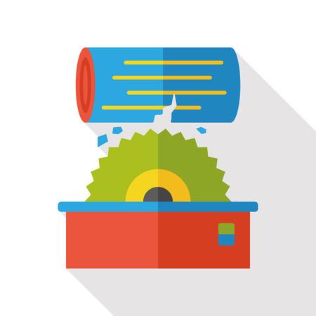 saws: electricity saws flat icon