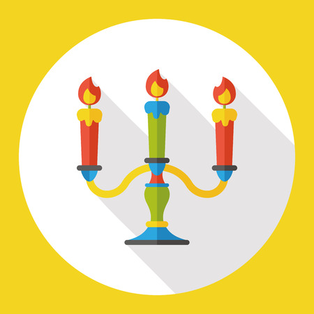 candlestick: Candlestick flat icon