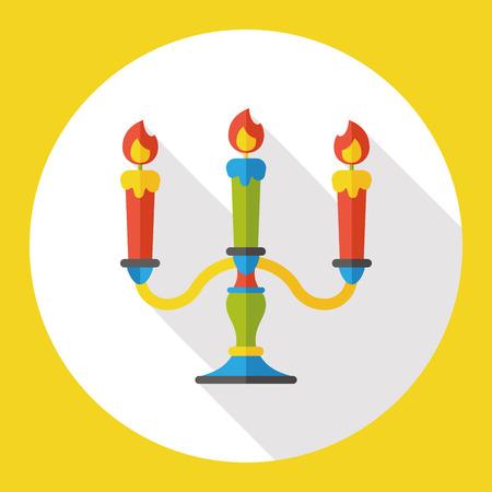 candlestick: Candlestick flat icon