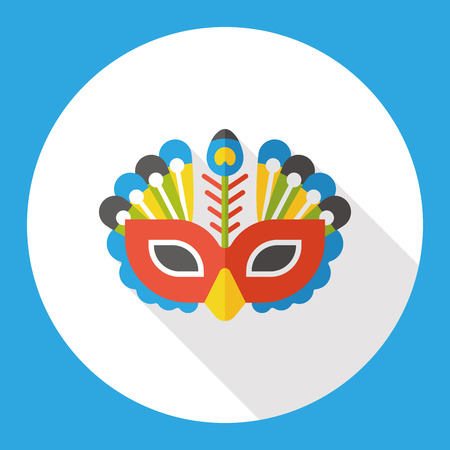 party mask: party mask flat icon