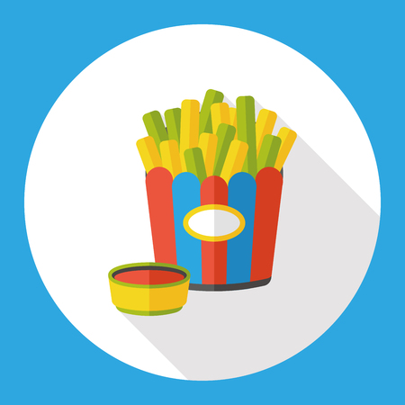 fries: french fries flat icon