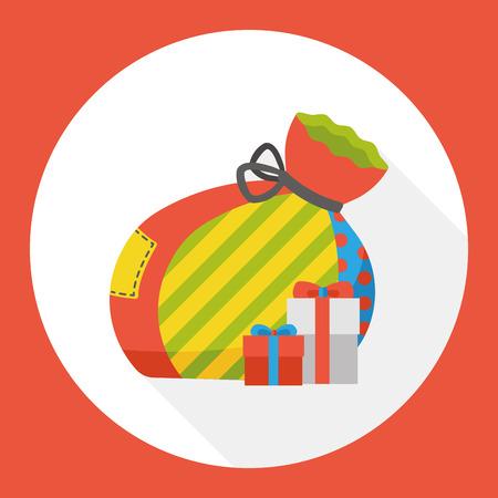 christmas gifts: Christmas gifts flat icon
