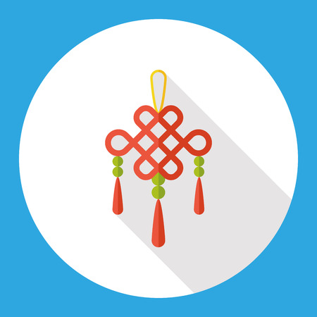 pendant: Chinese New Year lucky pendant flat icon